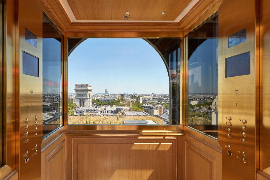 Hôtel Raphael Paris ***** Ascenseur Panoramique