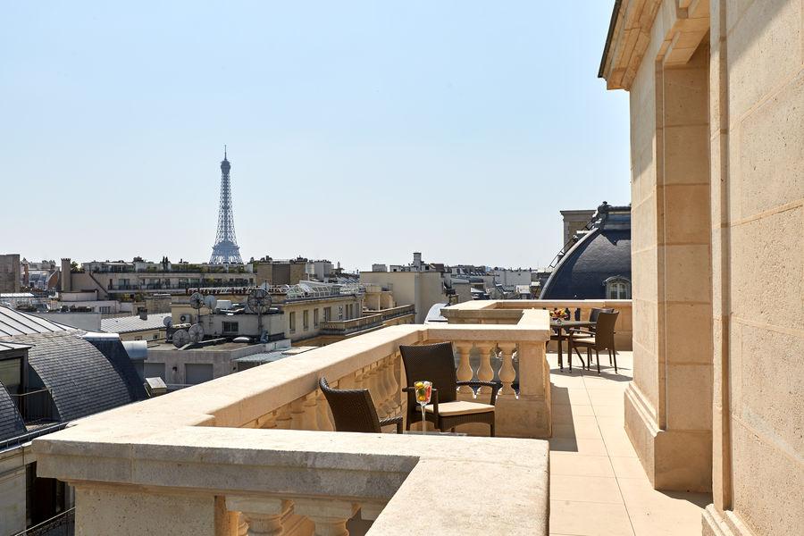 Hôtel Raphael Paris ***** Terrasse Suite Tour Eiffel