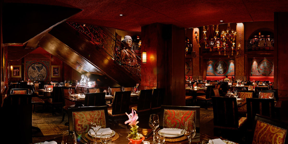 Buddha-Bar Paris Restaurant Salle rouge