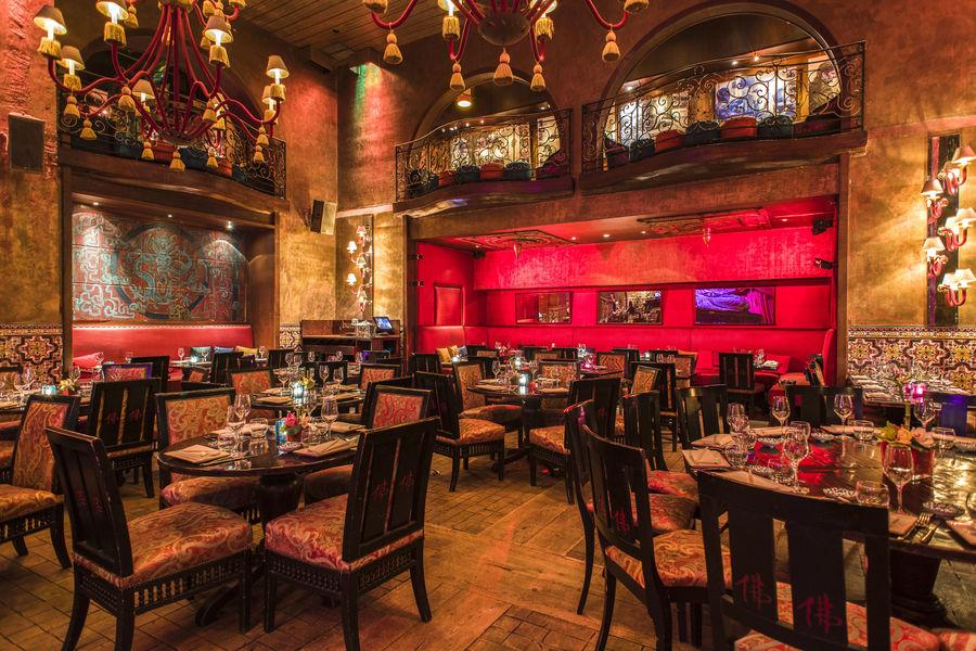 Buddha-Bar Paris Restaurant Salle dorée