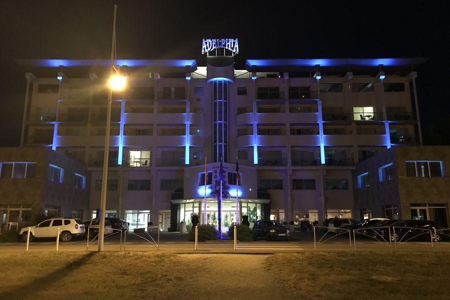 Hôtel Adelphia **** Hôtel Adelphia **** - vue nuit