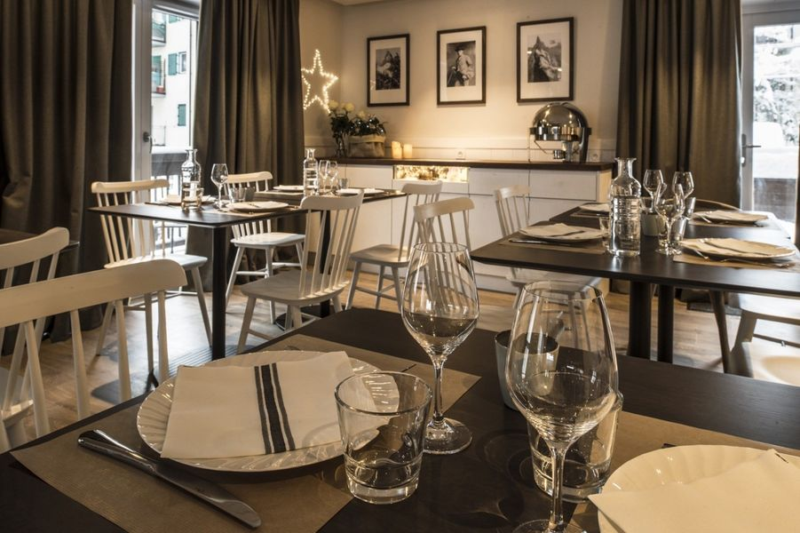 Le Whymper, Chalet & Spa Espace Restauration