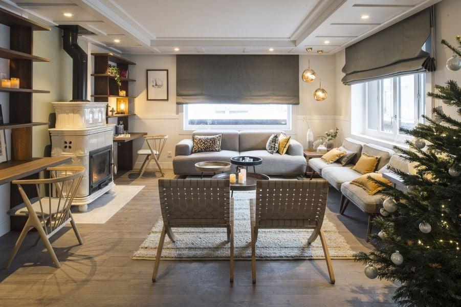 Le Whymper, Chalet & Spa Salon Lounge
