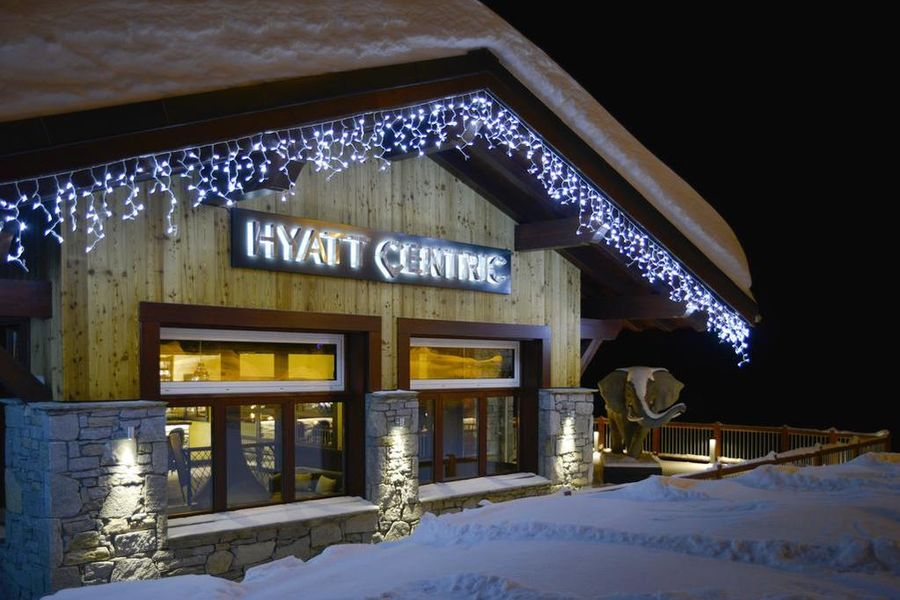 Hyatt Centric La Rosière Façade