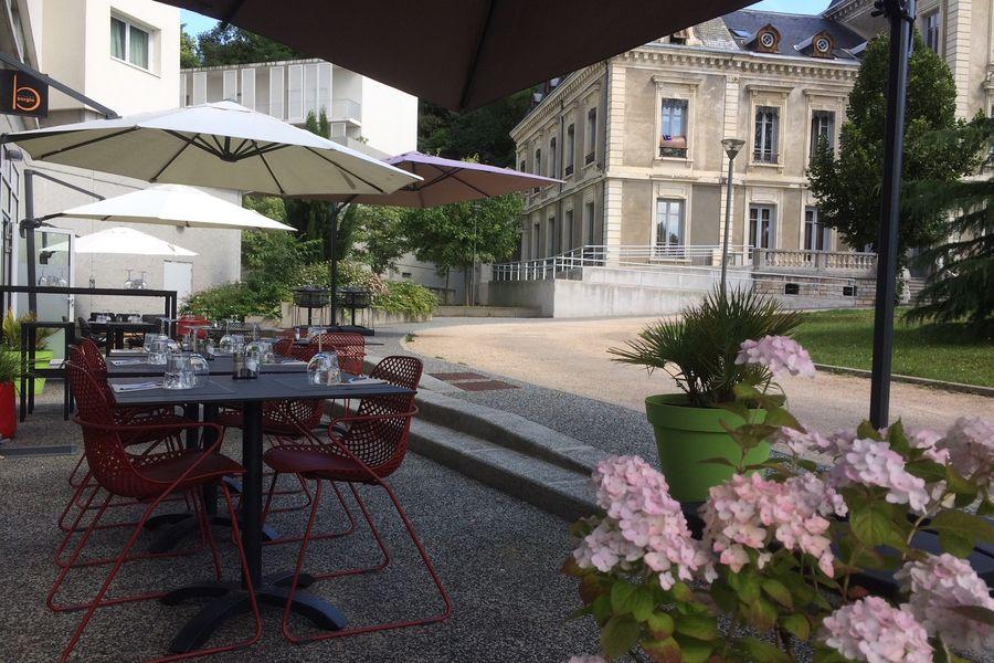 Appart'City Lyon Cité Internationale *** Terrasse