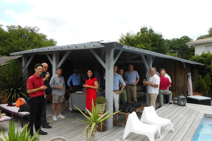 Cosy Workplace, La Maison des Pins Déjeuner de fin d'année du club des entreprises de Bordeaux chez Cosy Workplace