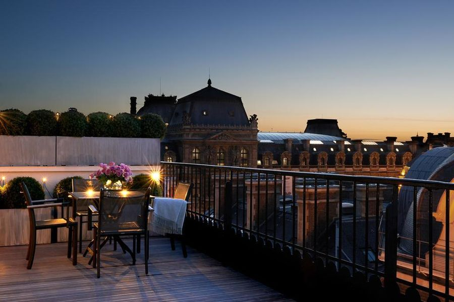 Grand hotel du Palais Royal Paris ***** Terrasse privée
