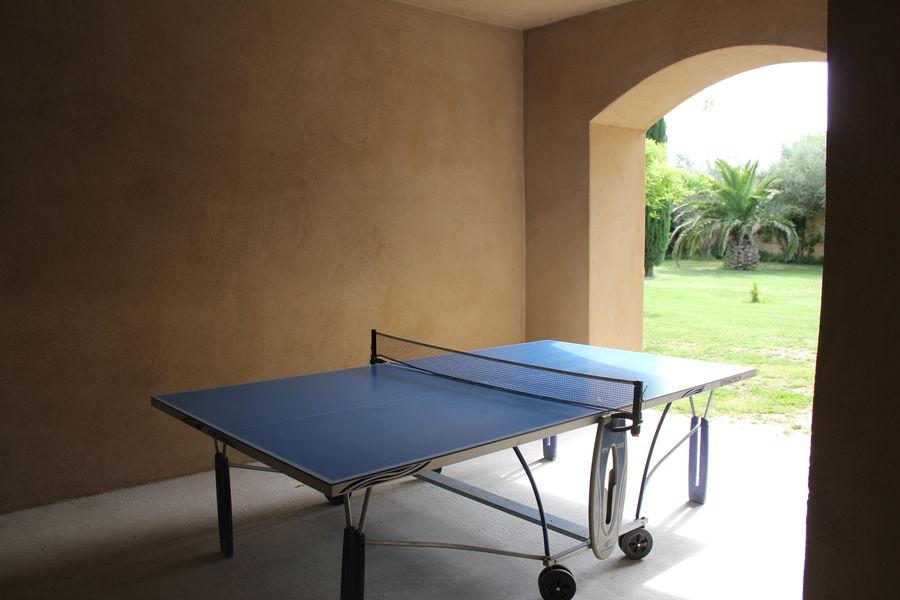 Domaine des Clos *** Table de ping pong