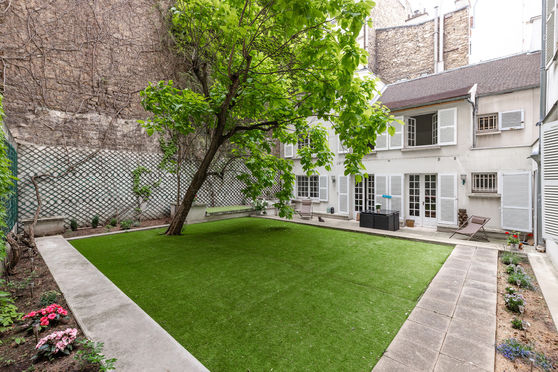 Jardin privatif et végétalisé - Premier espace