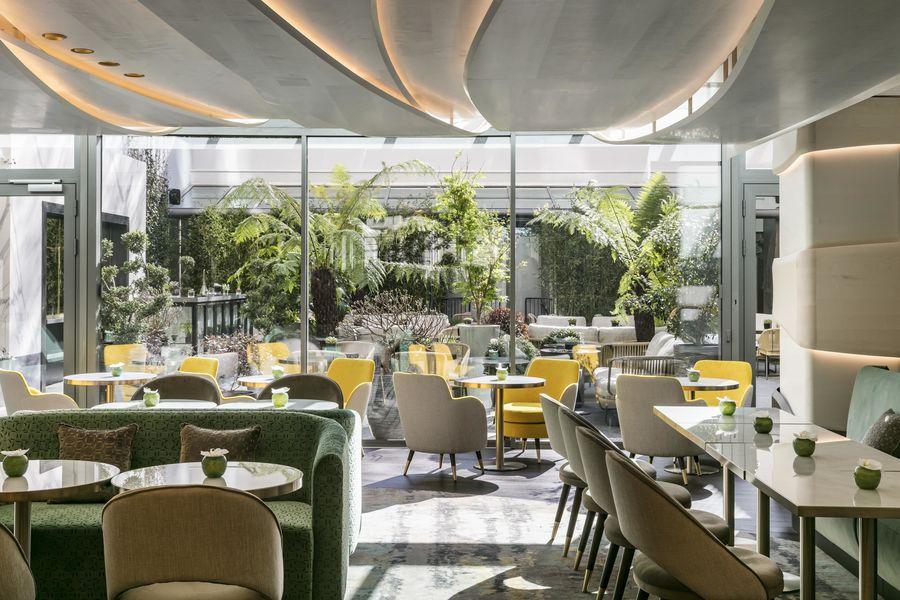Hôtel du Collectionneur ***** Le restaurant