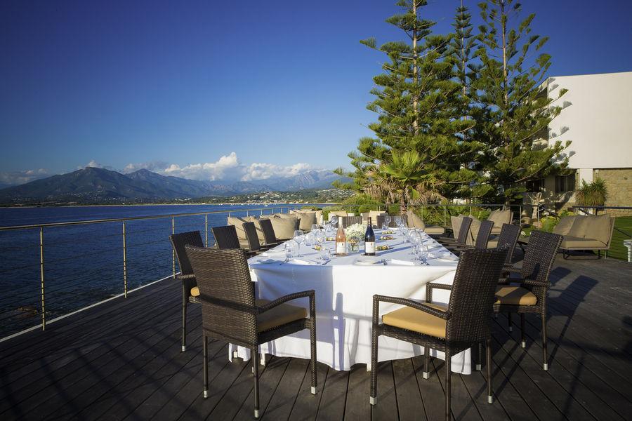Sofitel Golfe d'Ajaccio Thalassa Sea & Spa ***** Déjeuner en extérieur