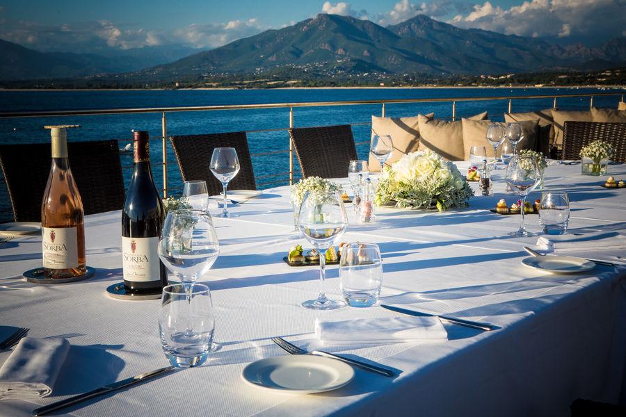 Sofitel Golfe d'Ajaccio Thalassa Sea & Spa ***** Déjeuner dans les jardins