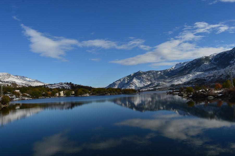 Sofitel Golfe d'Ajaccio Thalassa Sea & Spa ***** Vue sur les montagnes enneigées
