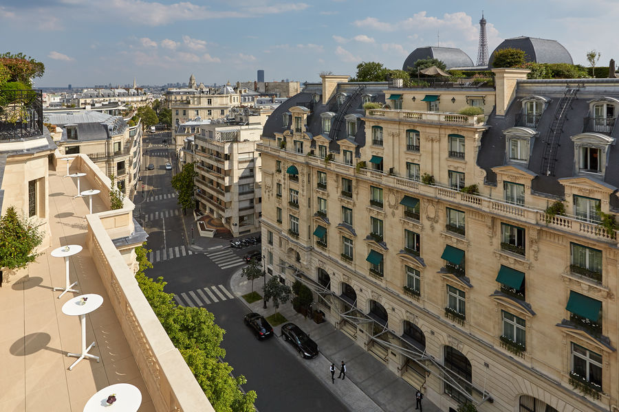 Hôtel Raphael Paris ***** Balcons du 6ème étage