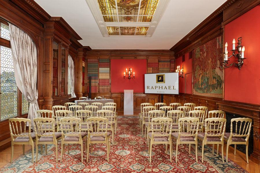 Hôtel Raphael Paris ***** Salon Bibliothèque