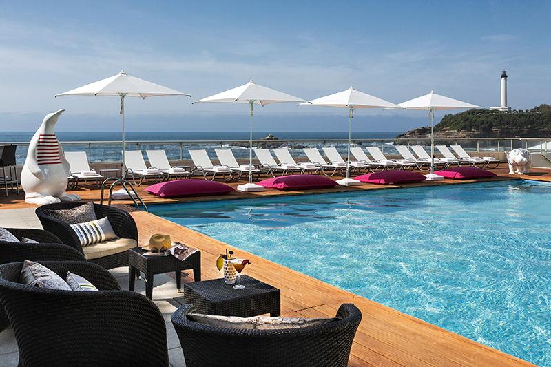 Sofitel Biarritz le Miramar Thalassa Sea & Spa ***** Piscine extérieure chauffée
