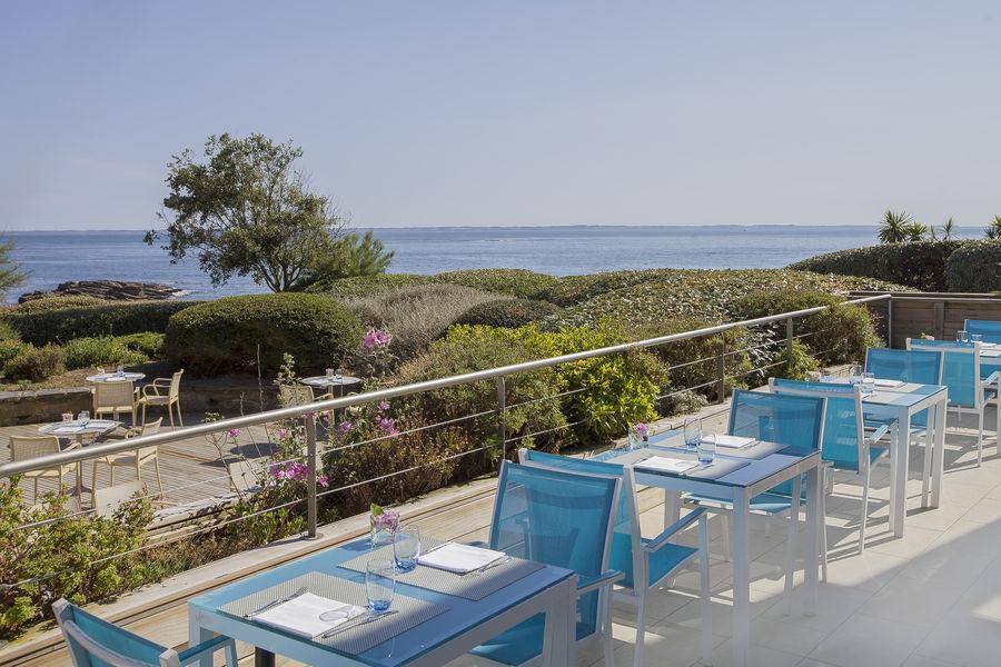 Sofitel Quiberon Thalassa Sea & Spa ***** Terrasse du Bistrot de l'Océan