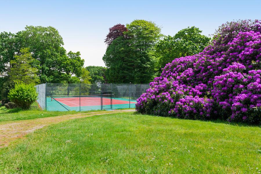 Manoir de Kerhuel Terrain de tennis