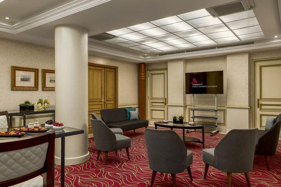 Paris Marriott Champs-Elysées Hôtel ***** Louvre - Style Lounge