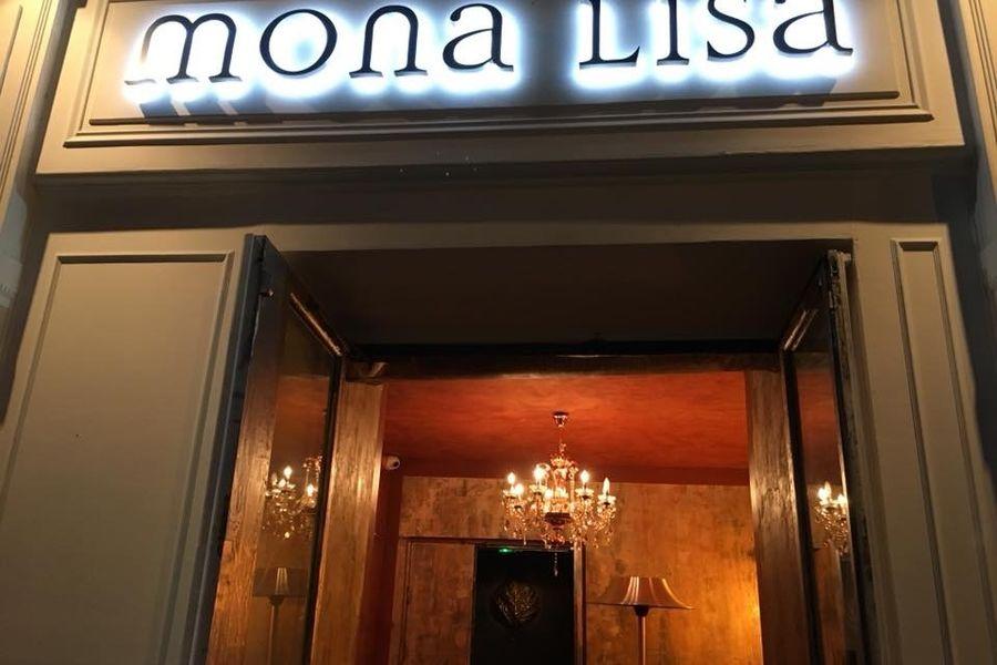 Le Mona Lisa Paris L'entrée
