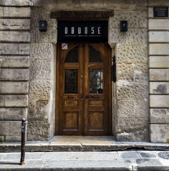 Oboose Paris Six L'entrée