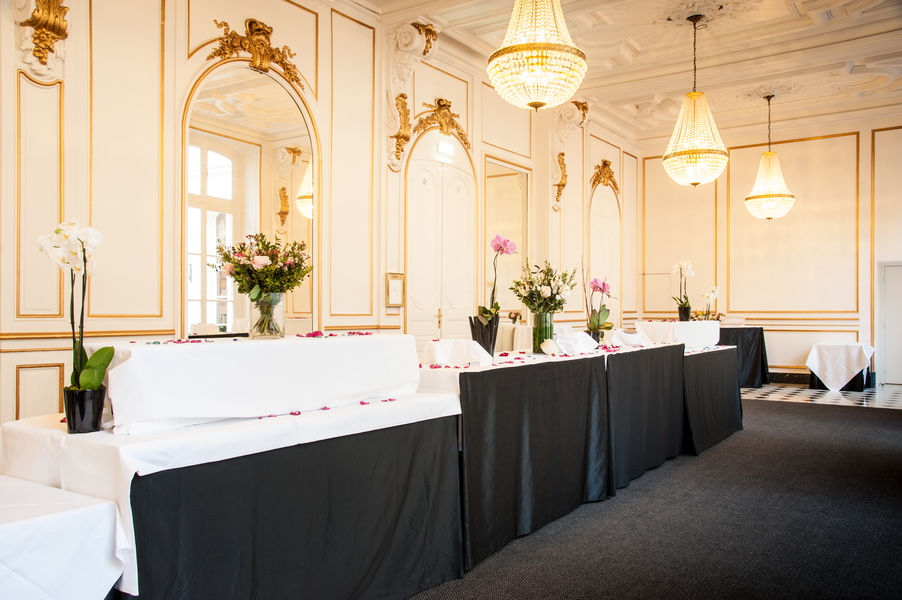 Saint James Albany Paris Hôtel Spa **** Salon Saint Honoré Buffet Mariage