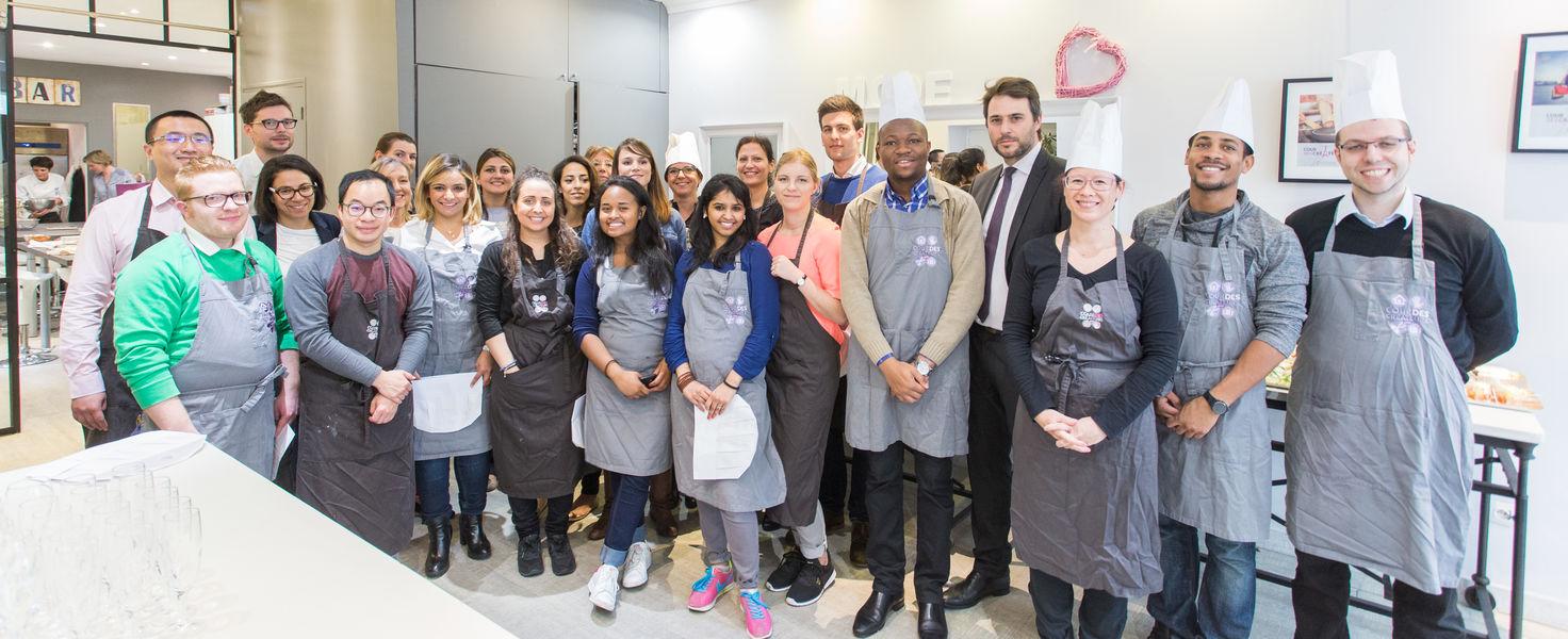 Cour des Créateurs teambuilding culinaire 25 personnes