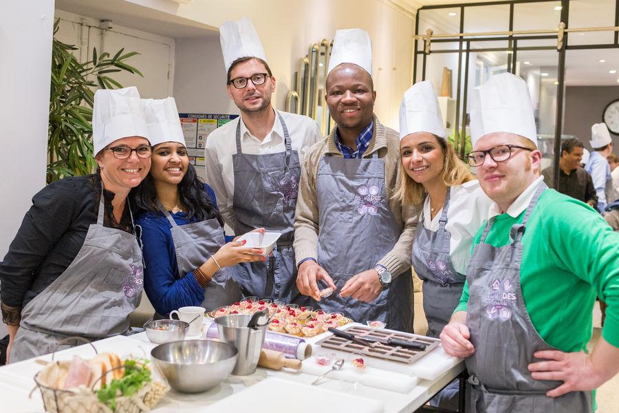Cour des Créateurs cooking event