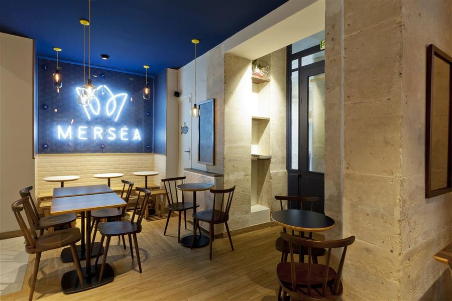 Mersea Salle de restaurant