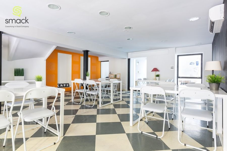 Smack Coworking Salle en Design Thinking