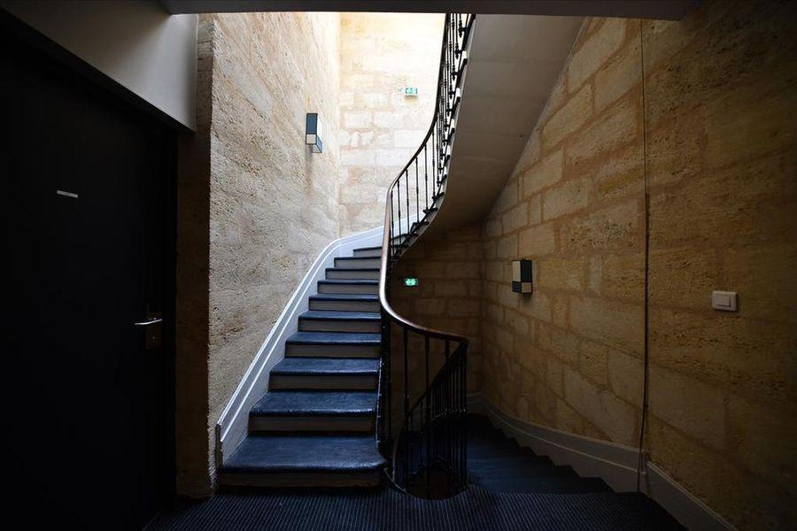 Hotel California *** Escaliers