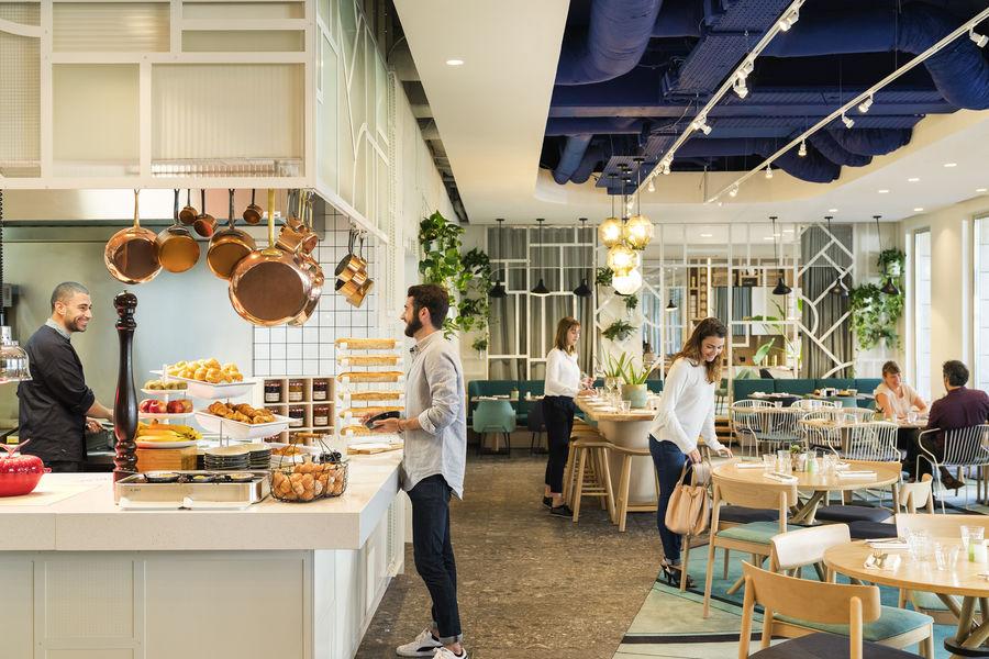 Novotel Paris Centre Gare Montparnasse **** Restaurant Halle Quatre