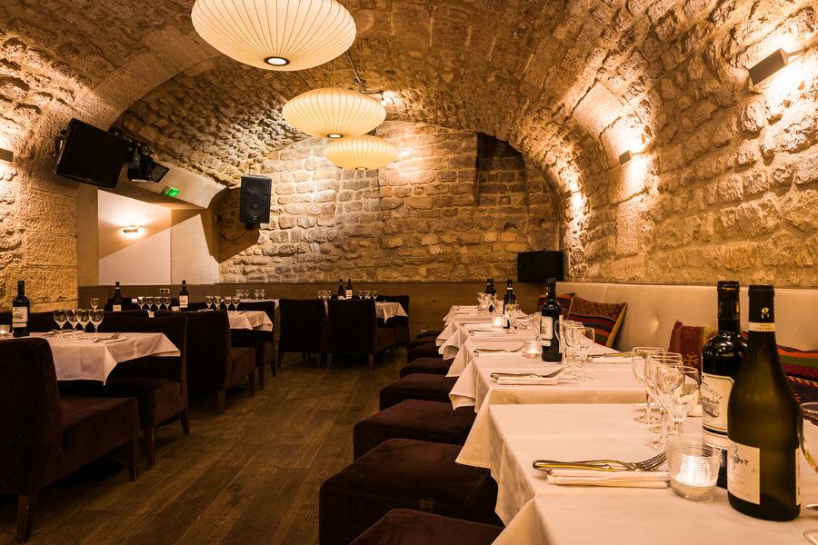 Café Louise Cave voutée, diner d'entreprise
