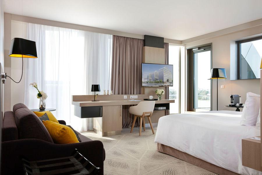 Hilton Garden Inn Bordeaux Centre **** Hilton Garden Inn Bordeaux Centre **** - suite avec terrasse