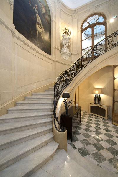 Hôtel Particulier Wagram ETOILE WAGRAM - Escalier d'honneur
