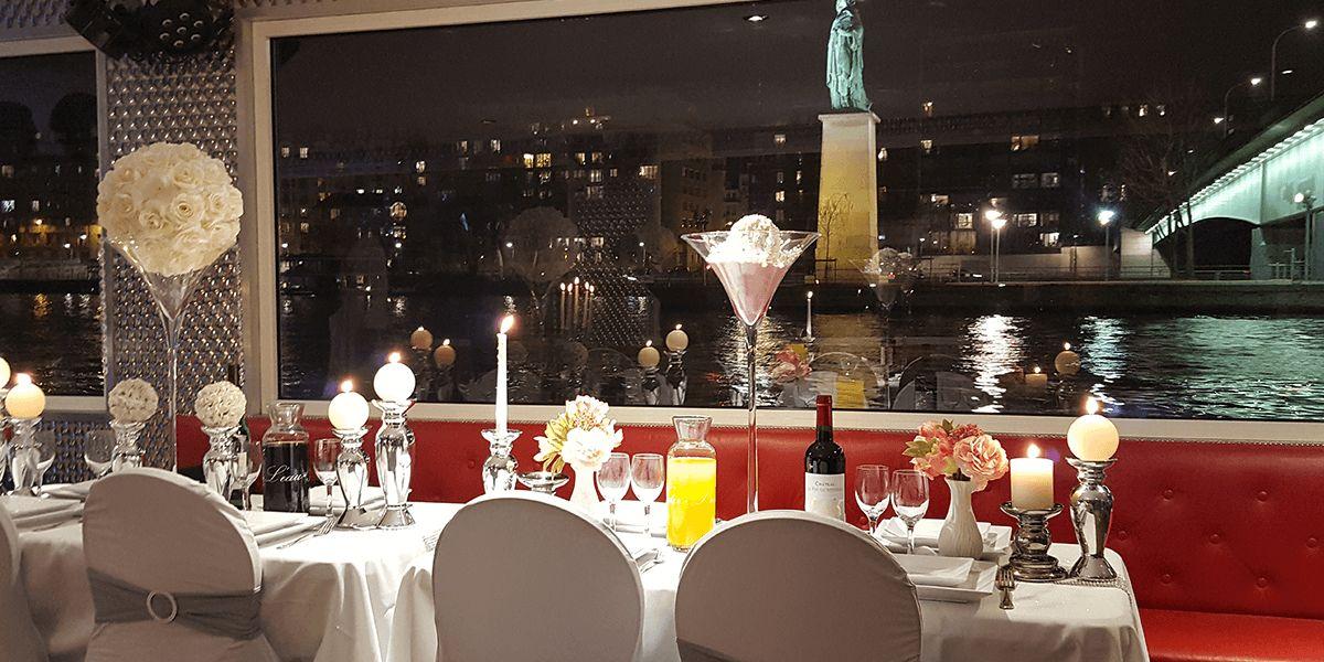 La Parisienne En croisière sur la Seine