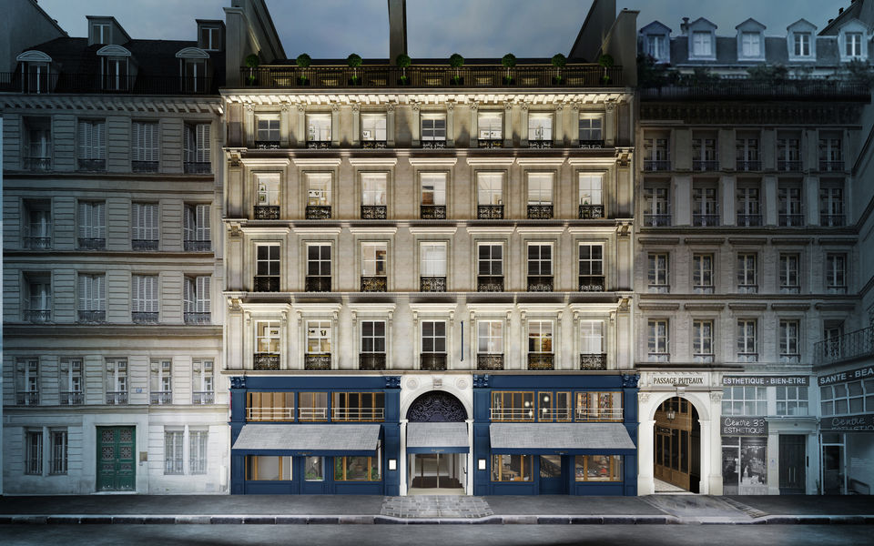 Hôtel Royal Madeleine **** Façade