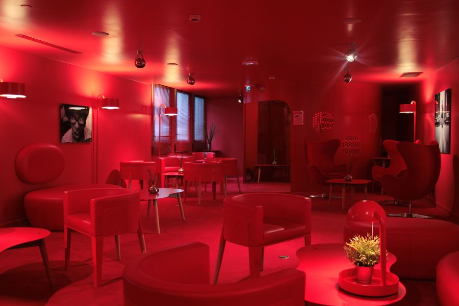 Appart'City Confort Paris Vélizy **** Red Bar Lounge