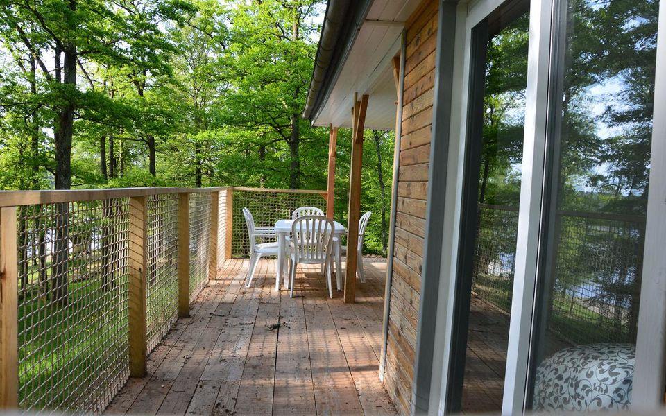 Les Etangs de Taysse Cottage - Terrasse