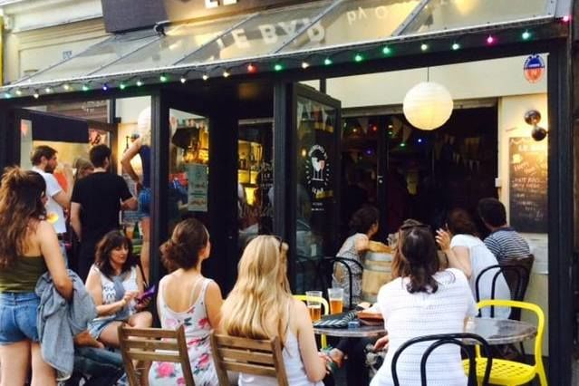 Le BAR by O'Sisters Terrasse
