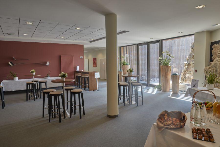 Hôtel Val Vignes espace de réception FULRAD