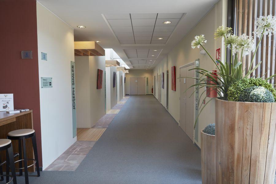 Hôtel Val Vignes HALL de l'espace de réunion
