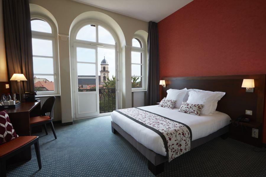 Hôtel Val Vignes chambre double