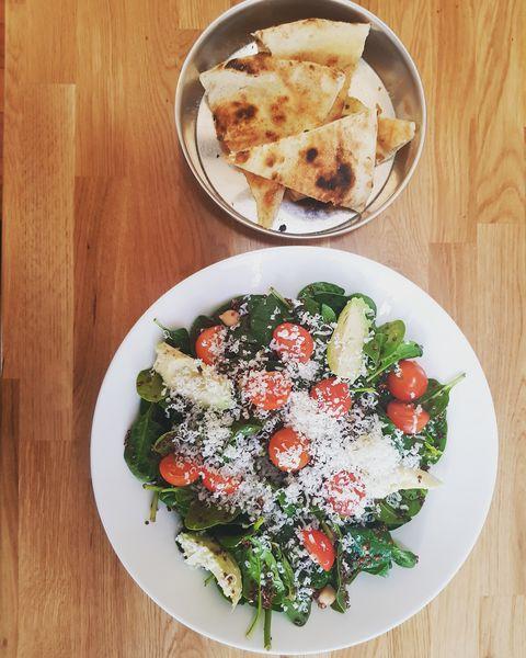 Pizza e Mozza  Salade quinoa & ricotta !