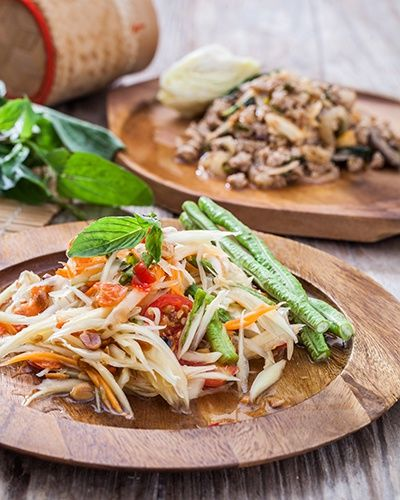 IM Thai Gourmet Salade de Papaye vert