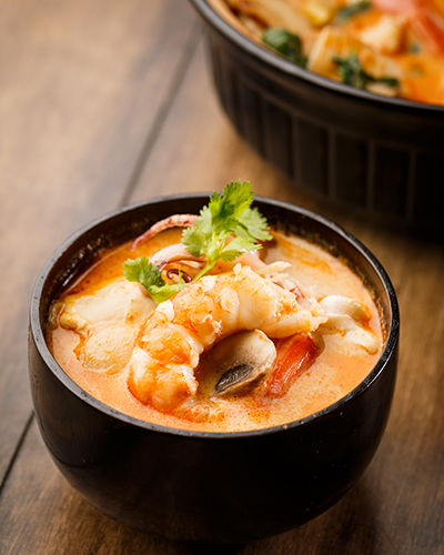 IM Thai Gourmet Crevette au curry rouge