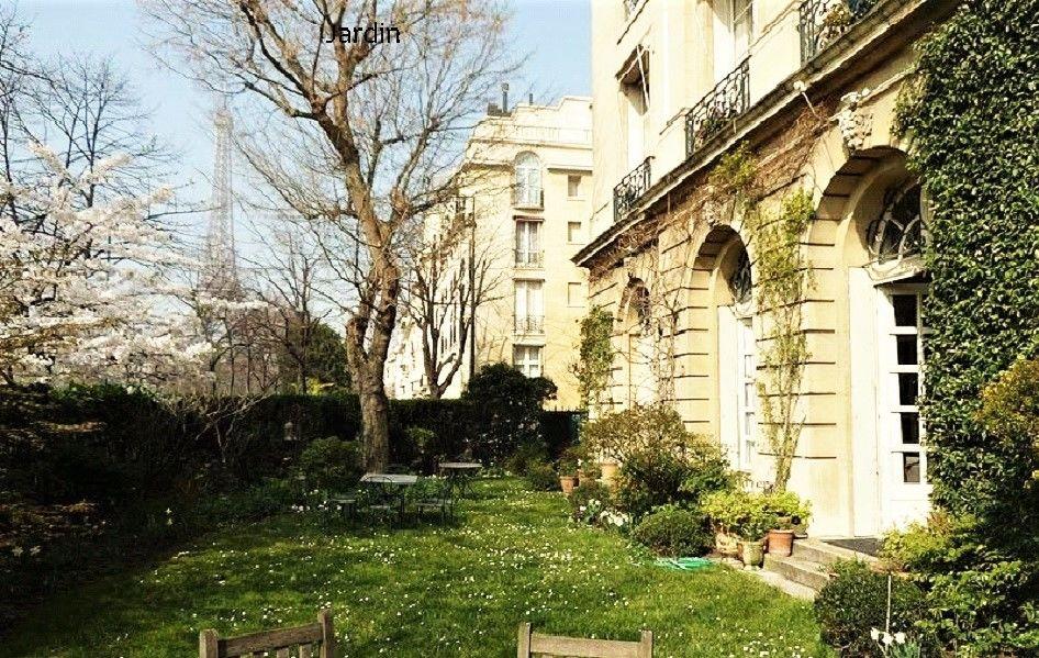 Hôtel particulier du Champs-de-Mars FP Jardin 1