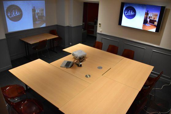 Salle de réunion de l'hôtel Tilde
