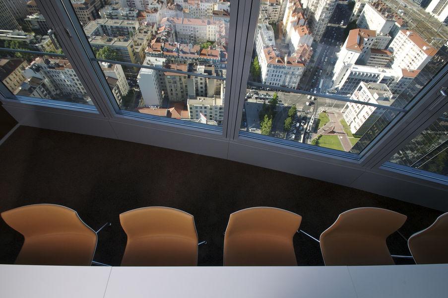 World Trade Center Lyon vue de la salle Ontario