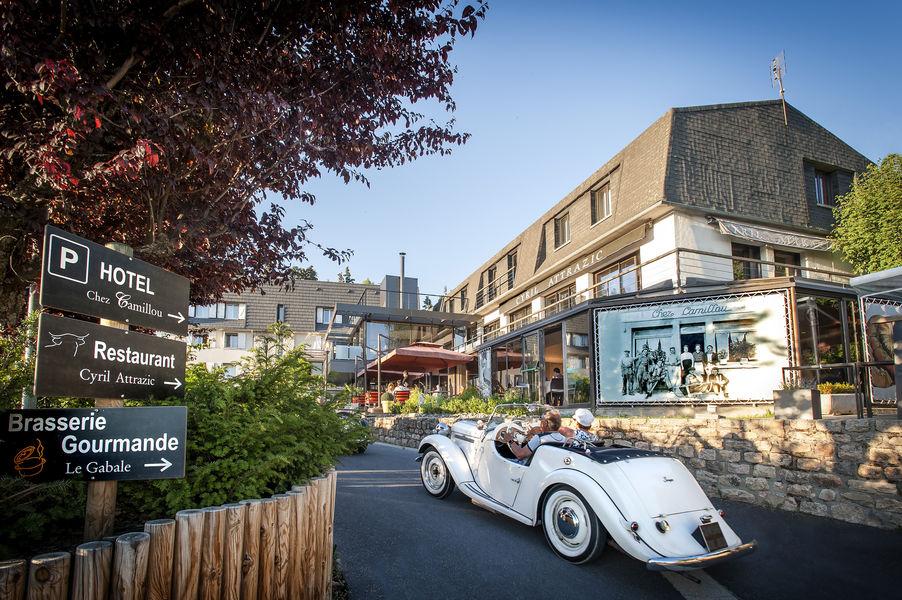 Logis et Spa Chez Camillou Entrée Hotel et restaurants